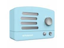 Parlante Polaroid Bluetooth Retro celeste