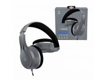 Auriculares Polaroid Bass Boost negro c/ microfono