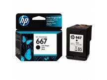 Cartucho HP original 667 negro