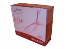 DVD+R nashua en caja fina pack 10 unidades