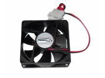 Fancooler ventilador 12x12 cm negro