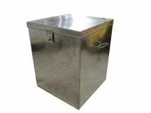 Caja metalica grande con soporte para candado