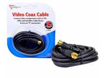 Cable coaxial macho macho rg59 1.8 metros