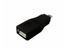 Adaptador de micro USB macho a USB hembra