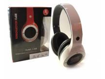Auricular con reproductor MP3 micro SD blanco