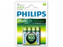Pila recargable Philips AAA 900mah