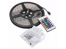 Tira led RGB 5 Mts c/ control para efectos