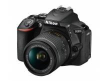 Camara Nikon D5600, 24mp, lente 18-55, Wifi, reflex profesional