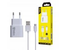Cargador Inkax c/Cable MicroUSB 1A