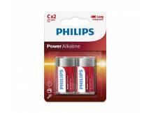 Pilas alcalinas Philips C x2