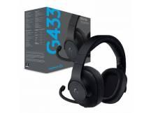 Audifono gamer Logitech G433 7.1 Surround c/microfono