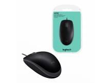 Mouse óptico Logitech M110 silent negro