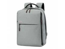 Mochila Ruigor CITY 56 para Laptop 15.6 gris claro
