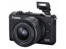 Camara Canon M200 Mirrorless lente 15-45mm