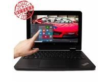 Notebook Convertible Lenovo Dualcore 2.16Ghz, 4GB, 128GB, 11.6, Win10 Pro (con detalles)